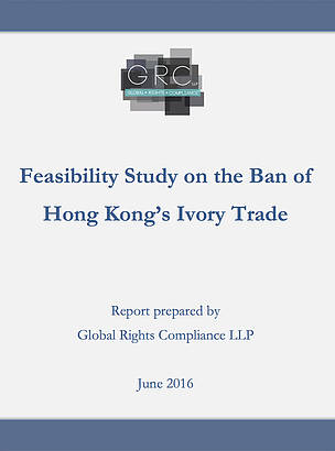 Feasibility Study on the Ban of Hong Kong's Ivory Trade  	© WWF-Hong Kong