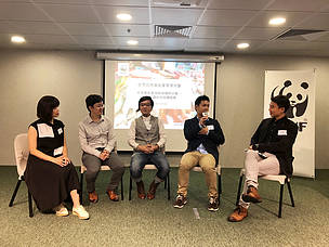 Chinese caterers share their insights at a WWF-Hong Kong-organized Sustainable Seafood Seminar
